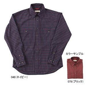 Fox Fire(フォックスファイヤー) QDソフトミニチェックシャツ M 046(ネイビー)