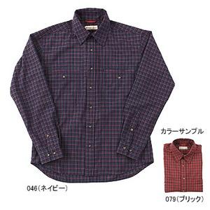 Fox Fire(フォックスファイヤー) QDソフトミニチェックシャツ L 046(ネイビー)