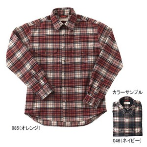 Fox Fire(フォックスファイヤー) サーマスタット プレイドシャツ S 085(オレンジ)