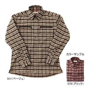 Fox Fire(フォックスファイヤー) サーマスタット ツィルチェックシャツ M 011(ベージュ)