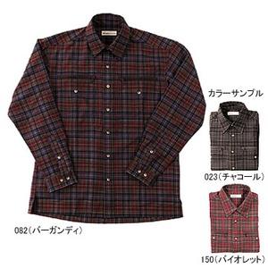 Fox Fire(フォックスファイヤー) テクノファインプレイドシャツ XL 082(バーガンディ)
