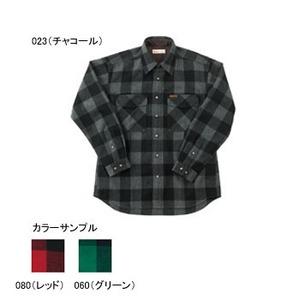 Fox Fire(フォックスファイヤー) ウォッシャブルウールバッファローチェックシャツ S 060(グリーン)