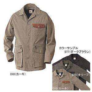 Fox Fire(フォックスファイヤー) ワックスクロスHDジャケット M 077(ダークブラウン)
