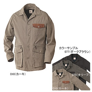 Fox Fire(フォックスファイヤー) ワックスクロスHDジャケット XL 077(ダークブラウン)
