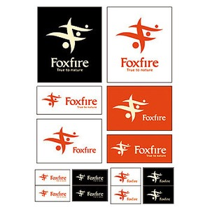Fox Fire(フォックスファイヤー) ステッカーシート 001(ホワイト)