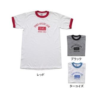 BOIL(ボイル) リンガーロゴ Tシャツ S ターコイズ