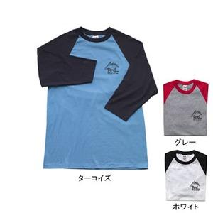 BOIL(ボイル) スリークォーター Tシャツ M ターコイズ