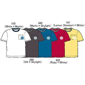 Columbia(コロンビア) パームスプリングスTシャツ XS 655(Ruby×White)