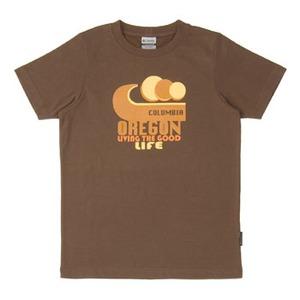 Columbia(コロンビア) ウィメンズ オレゴンサーフTシャツ S 202(Dark Brown)