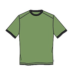 Columbia(コロンビア) マウンテンテックリンガーTシャツ S 361(New Leaf)