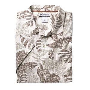 Columbia(コロンビア) ビーチャーアイランドIIプリントシャツ XS 022(Stone)