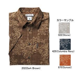Columbia(コロンビア) ケイプアベリィIIプリントシャツ XS 202(Dark Brown)