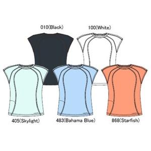 Columbia(コロンビア) ウィメンズ エッセンシャルTシャツ M 483(Bahama Blue)