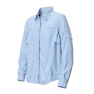 Columbia(コロンビア) ウィメンズ シルバーリッジIIIロングスリーブシャツ M 483(Bahama Blue)