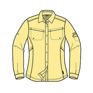 Columbia(コロンビア) ウィメンズ シルバーリッジIIIロングスリーブシャツ M 746(Lemon Meringue)