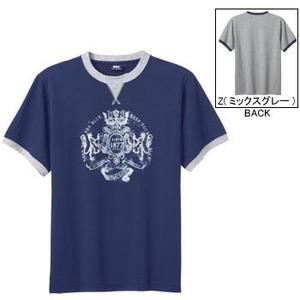 ヘリーハンセン HH68212 グラフィックTシャツ M DN(ディープネイビー)