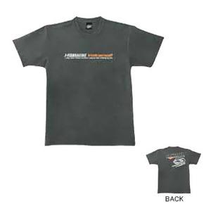 J-FISH ボルケーノ2Tシャツ M CHARCOAL