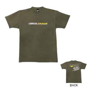 J-FISH ボルケーノ2Tシャツ M OLIVE