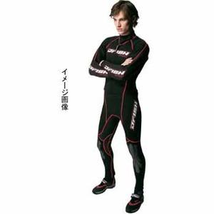 J-FISH アドバンスウェットスーツ/メンズ ML BLACK×RED