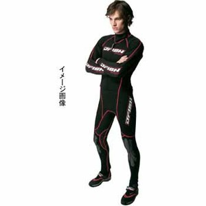 J-FISH アドバンスウェットスーツ/メンズ MLB BLACK×RED