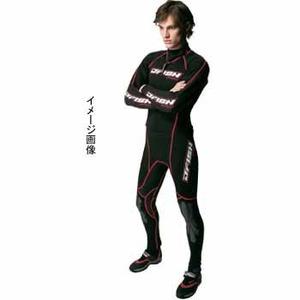J-FISH アドバンスウェットスーツ/メンズ LB BLACK×RED
