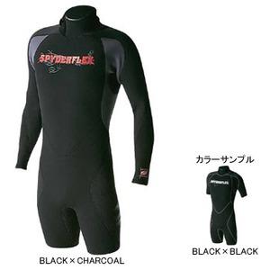 Spider Flex(スパイダーフレックス) ウェットスーツ L/S SPRING MEN'S L BLACK×BLACK