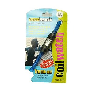 HOGWILD スナップウォッチシリーズ6 コイルウォッチ M ブルー