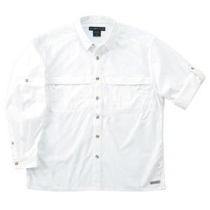 Exofficio(エクスオフィシオ) バグズアウェイポプリンライトLS M WT(white)