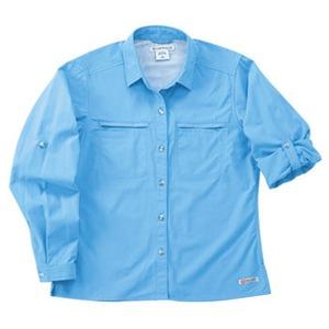 Exofficio(エクスオフィシオ) バグズアウェイポプリンライトLS Women's XS BL(blue)