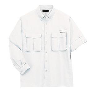Exofficio(エクスオフィシオ) エアーストリップライトL/S S WT(white)