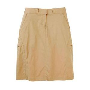 Exofficio(エクスオフィシオ) エクスカーションスカート XS KH(lt khaki)