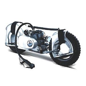 G-Wheel(ジ-ウィール) SB50 スタンドバイク プレミアムシルバー