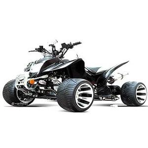 G-Wheel(ジ-ウィール) ATVバギー50 Black