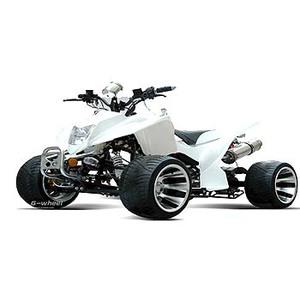 G-Wheel(ジ-ウィール) ATVバギー50 White
