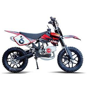 G-Wheel(ジ-ウィール) KXD50 ミニモト ダートバイク Black