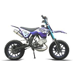 G-Wheel(ジ-ウィール) NewKXD50 ミニモト ダートバイク Blue