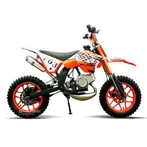 G-Wheel(ジ-ウィール) NewKXD50 ミニモト ダートバイク Orange