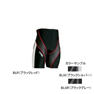 4DM(フォーディーエム) アドバンスモデルハーフタイツ MENS XO BLGR(ブラックグレー)
