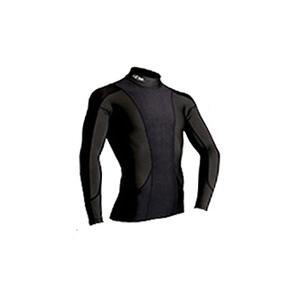 4DM(フォーディーエム) アドバンスモデルロングスリーブシャツ MENS L BL1(ブラック1)