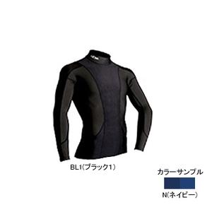 4DM(フォーディーエム) アドバンスモデルロングスリーブシャツ MENS L N(ネイビー)