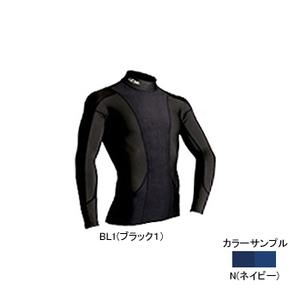 4DM(フォーディーエム) アドバンスモデルロングスリーブシャツ MENS XO N(ネイビー)