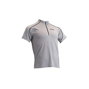 4DM(フォーディーエム) ZIPショートスリーブシャツ MENS XO SI(シルバー)