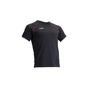 4DM(フォーディーエム) クルーショートスリーブシャツ MENS O BL(ブラック)