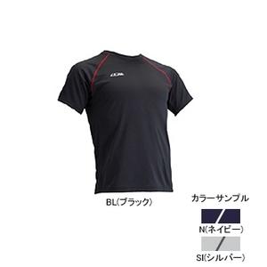 4DM(フォーディーエム) クルーショートスリーブシャツ MENS XO N(ネイビー)