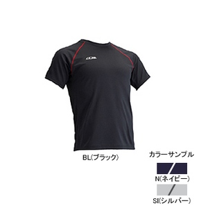 4DM(フォーディーエム) クルーショートスリーブシャツ MENS S SI(シルバー)