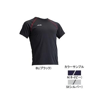 4DM(フォーディーエム) クルーショートスリーブシャツ MENS XO SI(シルバー)