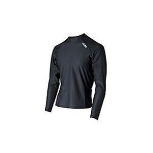 4DM(フォーディーエム) メッシュロングスリーブシャツ MENS L BL(ブラック)