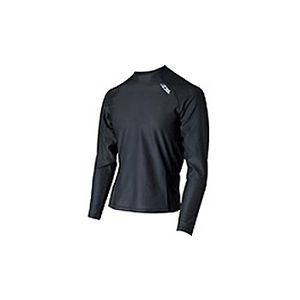 4DM(フォーディーエム) メッシュロングスリーブシャツ MENS O BL(ブラック)
