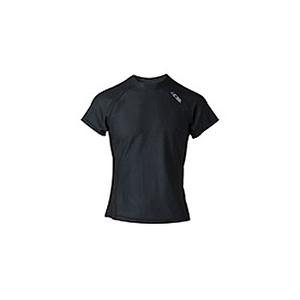 4DM(フォーディーエム) メッシュショートスリーブシャツ MENS M BL(ブラック)