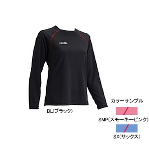 4DM(フォーディーエム) クルーロングスリーブシャツ WOMENS S SMP(スモーキーピンク)